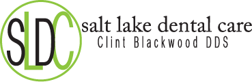 Logo for Salt Lake Dental Care, home of Murray Dentist Dr. Clint Blackwood